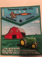 Takachsin Lodge 173 2018 NOAC John Deere Tractor Patch Sagamore Council