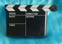 Matlock Movie Making Clapboard Clapper Paper Weight Novelty Pocket Thing RARE