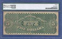 "1861 $5 FR-1 ""NEW YORK"" ♚♚ DEMAND NOTE ♚♚ PMG VF 20"