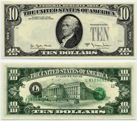 US Currency 1977 A $10