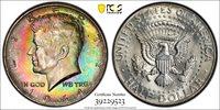 Beautifully Toned 1964 Kennedy Half Dollar 1964 Kennedy Half dollar, PCGS Gold Shield MS 65.