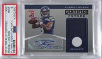 2012 Totally Certified - Certified Future Signature Materials #30 - Russell Wilson /175 [PSA 9 MINT]