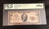 $10 1929 TYPE-1 >>FARGO<< MERCHANT NATL BANK & TRST CO. OF FARGO; CH #13323