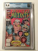 The New Mutants #87 CGC 9.4 - 1st appearance of Cable & Stryfe White Pages