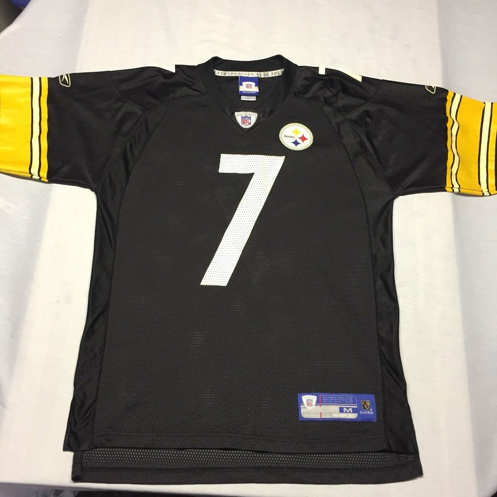 size 40 e086f aa3d1 Ben Roethlisberger Pittsburgh Steelers NFL Football Jersey Field Medium  Reebok