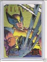 GOLD POWERBLAST CARD WOLVERINE HUNTERS /& STALKERS 1995 ULTRA X-MEN