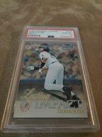 1999 Bowman Chrome Derek Jeter Impact insert-Psa 10-Yankees