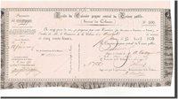 500 Francs Senegal Banknote, 1850-04-23