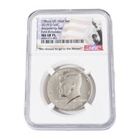 2019 D Rocketship Kennedy MS68 PL Proof Like NGC Early Release