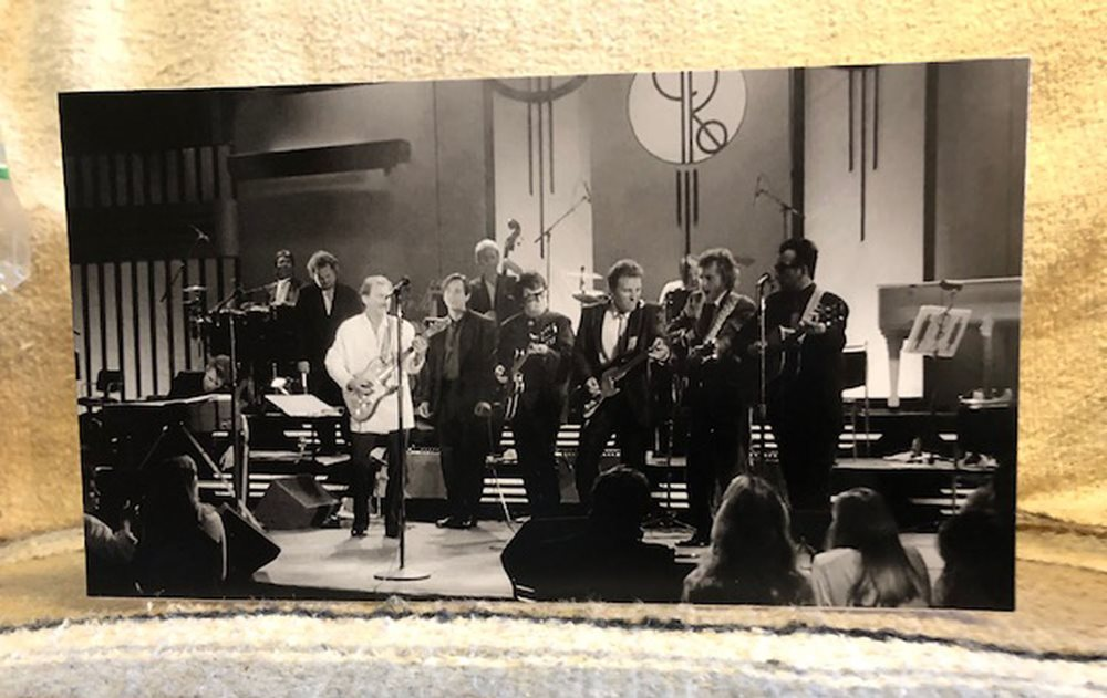 Roy Orbison /& his All Star Band W-Bruce Springsteen /'88 Concert Tabletop Standee