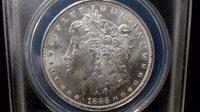 1885-O Morgan Dollar ANACS MS 64