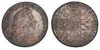 BRITAIN George I 1723 AR Shilling. PCGS MS63 SCBC-3647. South Sea Company.