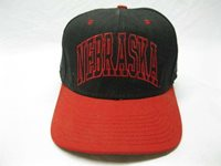 Vintage Nebraska Cornhuskers Football Hat Cap Baseball Small Fitted