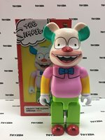 Medicom 20th Fox Simpsons Krusty the clown show 400% Be@rbrick Bearbrick 1pc