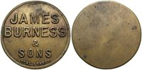 SAINT LUCIA James Burness & Sons ND Coal Token -- #:WC70207