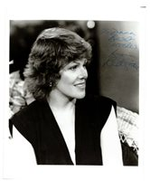 Lynn Redgrave Georgie's Girl Signed 8*10 Autographed B&W Photo