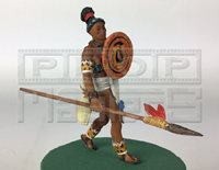 NIGHT AT THE MUSEUM Mayan Warrior Figure