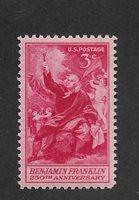 US 1955 Benjamin Franklin ,Scott # 1073,VF MNH**