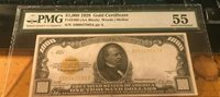 $1000 Gold Certificate PMG 55 Fr.2408 1928 small sized High Grade-SUPER LOWER!