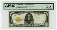 $1000 Gold Certificate PMG 55 Fr.2408 1928 small sized High Grade-Best value!