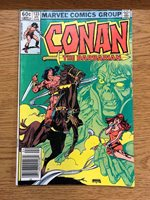 Conan The Barbarian Vol 1 #133 Marvel April 1982 Witch of Windsor Comic Book