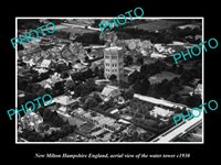 OLD LARGE HISTORIC PHOTO OF NEW MILTON HAMPSHIRE ENGLAND THE WATER TOWER c1930