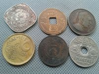 OLD COIN LOTS **World/Foreign coins !! *COLLECTIBLES*