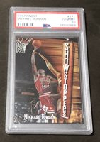 1997 Topps Finest * MICHAEL JORDAN * Showstoppers #271 * BULLS * PSA 10 Gem Mint
