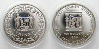 Suriname 100 Guilders 1996 Olympic Games Discus Thrower Cu-ni Scarce! Cupro-nickel