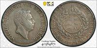 1824-W German States WURTTEMBER 2 Gulden Silver Coin Wilhelm I PCGS VF-Details