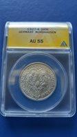1927-A Germany WEIMAR Republic 3 Mark Silver Coin Nordhousen ANACS AU-55