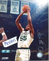 Acie Earl Boston Celtics Autographed Signed 8x10 Photo #1 COA Iowa Hawkeyes