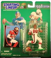 1998 JERRY RICE San Francisco 49ers NM+ * FREE s/h * Starting Lineup