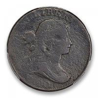1800 1C Sheldon 210 Draped Bust Cent PCGS MS98BN