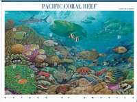 2004 Sheet PACIFIC CORAL REEF Marine life Nature of America,Sc # 3831,VF MNH**