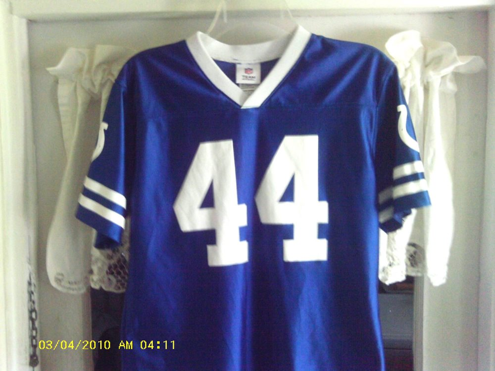 quality design b40b2 25225 Indianapolis Colts NFL Jersey (Dallas Clark #44) Youth Size-XL (14-16)