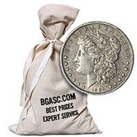 Morgan Silver Dollars 500 Coin Bag - 90% Silver Coins Circulated Cull