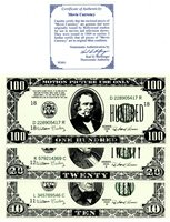 Movie Currency -Motion picture ... 10,20,100 ND(1969) Used By Hollywood Studios