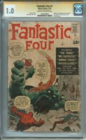 Fantastic Four 1 CGC 1.0 - 1st APP OF Mr Fantastic, Invisible Girl, Thing,