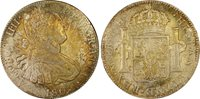 1805-Mo TH 8 Reales PCGS Genuine Cleaning-AU Details Mexico #A9