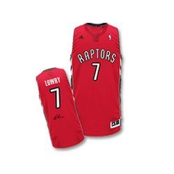 new concept c507a 62bfc Kyle Lowry - Signed Toronto Raptors Red Jersey
