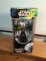 Star Wars, The Power of the Force. Death Star with Darth Vader Complete Galaxy