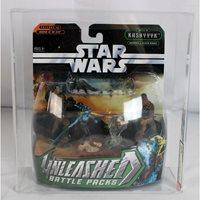 *** Star Wars Unleashed Battle Packs Kashyyyk & Felucia Heroes // AFA U90 NM+/MT #17404241 ***