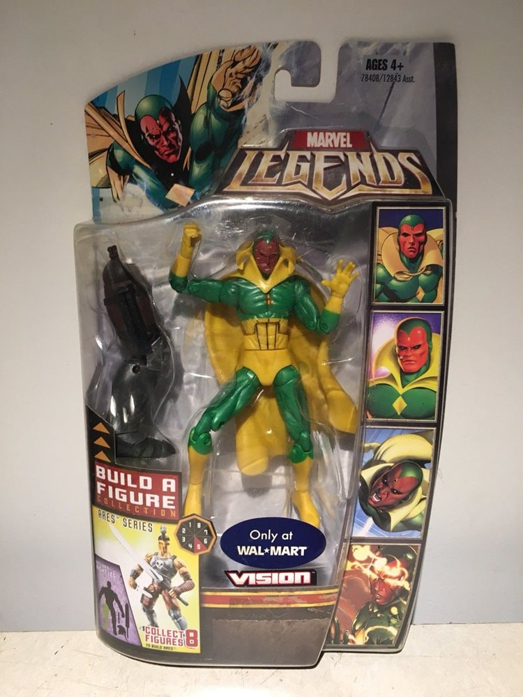Marvel Legends VISION VHTF FIGURE W ARES BAF RIGHT LEG