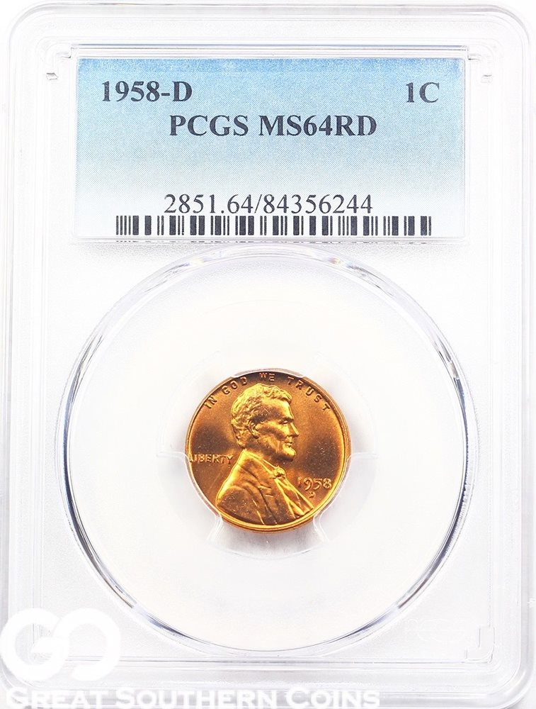 Pcgs wheat penny price guide