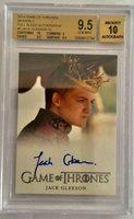 Game of thrones Season 3 Jack Gleeson- Joffrey 9.50 BGS Gem Mint VL autograph!