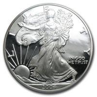 2004-W American Silver Eagle - Proof