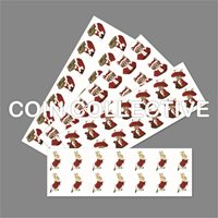 Beatrix Potter 2017 Christmas Decal Stickers, 50p Bumper Pack