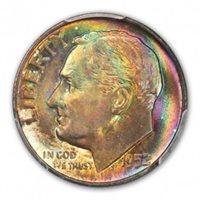 1952 D Roosevelt Dime (Silver) 10C PCGS MS68FB