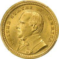 LA PURCHASE, MCKINLEY 1903 G$1 Gold Commemorative PCGS MS64